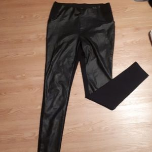 Vero Moda faux leather pants